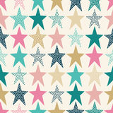 Seamless abstract dots pattern stock illustration