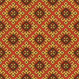 Seamless abstract ethnic ornament. Royalty Free Stock Photos