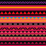 Seamless abstract ethnic ornament Stock Photos