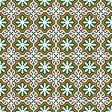 Seamless abstract ethnic ornament Stock Photography