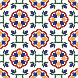Seamless abstract ethnic ornament Stock Photo