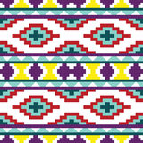 Seamless abstract ethnic ornament Royalty Free Stock Photo