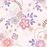 Seamless abstract    floral background. Seamless abstract  pink  floral background Stock Images
