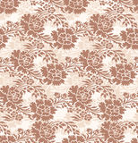 Seamless-Abstract floral background Stock Images