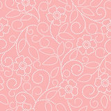 Seamless abstract  floral   background Royalty Free Stock Images