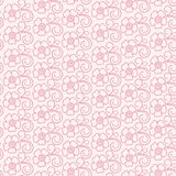 Seamless abstract  floral   background. Seamless pink abstract  floral   background Stock Image