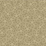 Seamless abstract  floral   background. Seamless  grey abstract  floral   background Stock Photography