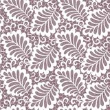 Seamless  abstract  floral   background. With lace leaves Royalty Free Stock Image