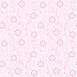 Seamless abstract  floral   background Royalty Free Stock Image