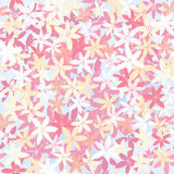 Seamless abstract  floral background Stock Photo