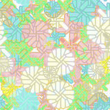 Seamless abstract floral background Royalty Free Stock Photos