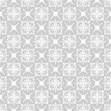 Seamless abstract floral geometric vector pattern Royalty Free Stock Photo