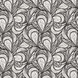 Seamless abstract floral pattern Stock Image