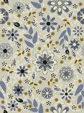 Seamless abstract floral pattern background Royalty Free Stock Photo