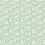 Seamless abstract floral pattern background Stock Image