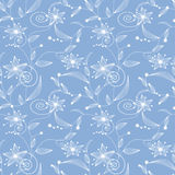 Seamless abstract floral pattern Royalty Free Stock Photos