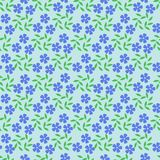 Seamless abstract floral pattern in blue, green colors. Vector background. Seamless background with abstract colors. Geometrical ornament.  Graphic modern Stock Photos