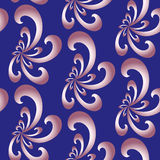 Seamless Abstract Floral Pattern. Exclusive Decoration Suitable for textile, fabric and packaging Stock Image