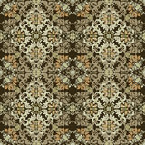 Seamless abstract floral pattern for fabric Stock Images