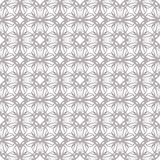 Seamless abstract floral pattern. Geometric flower ornament stock images