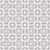 Seamless abstract floral pattern. Geometric flower ornament stock photography