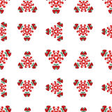 Seamless abstract floral pattern Royalty Free Stock Photography