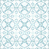 Seamless abstract floral pattern Stock Photography