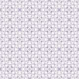 Seamless abstract floral patterns. Geometrical flower ornament. royalty free illustration
