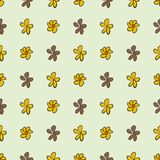 Seamless abstract flower illustrations background. Backdrop, design, digital & creative. Seamless abstract flower illustrations background. Cartoon style vector Vector Illustration