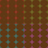 Seamless Abstract Flower Pattern. Seamless Graphic Flower Pattern for your web and print projects stock illustration