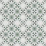 Seamless abstract flowers pattern  specks background Royalty Free Stock Image