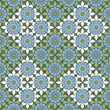 Seamless abstract flowers pattern  specks background Royalty Free Stock Photo
