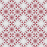 Seamless abstract flowers pattern  specks background Royalty Free Stock Photos