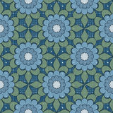 Seamless abstract flowers pattern stylish background. Seamless abstract flowers pattern stylish specks background Royalty Free Stock Image