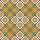 Seamless abstract flowers pattern stylish background. Seamless abstract flowers pattern stylish specks background Royalty Free Stock Photos