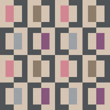 Seamless abstract geomatric colorful pixel square pattern. Seamless abstract geomatric colorful pixel  square pattern Royalty Free Stock Images