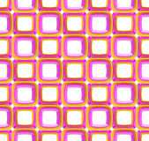 Seamless abstract geometric background. Made of glossy bright square figures Royalty Free Stock Image