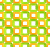 Seamless abstract geometric background. Made of glossy bright square figures Stock Image