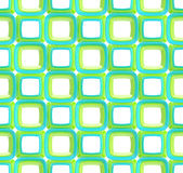 Seamless abstract geometric background. Made of glossy bright square figures Royalty Free Stock Photo