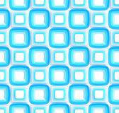 Seamless abstract geometric background. Made of glossy bright square figures Royalty Free Stock Images