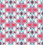 Seamless abstract geometric colorful  pattern Stock Photos