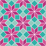 Seamless abstract geometric colourful vector tile pattern. Background wallpaper vector illustration