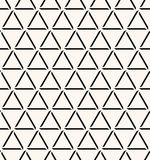 Seamless abstract geometric decorative background. Stock Photography