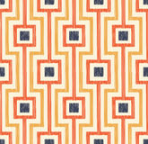 Seamless abstract geometric mesh pattern Royalty Free Stock Images