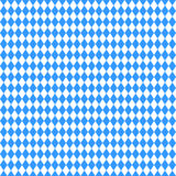 Seamless abstract geometric Oktoberfest and Bavarian flag pattern.. Vector illustration for October festival, traditional blue and white background colors. For Royalty Free Stock Images