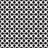 Seamless abstract geometric organic interlocking shape pattern. Background vector illustration