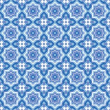 Seamless abstract geometric pattern Stock Photo