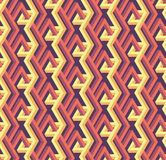 Seamless abstract geometric pattern with bars -vector eps8. Seamless abstract geometric pattern with bars in red and yellow colors. Suitable for web, print stock illustration