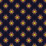 Seamless abstract geometric pattern on a beautiful background Royalty Free Stock Photo