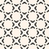 Vector seamless abstract geometric pattern. Elegant design for decoration. Seamless abstract geometric pattern. Black and white vector background. Delicate Vector Illustration